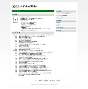(株)ハタナカ昭和